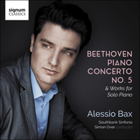 SIGCD525 - Beethoven: Piano Concerto No 5 & works for solo piano