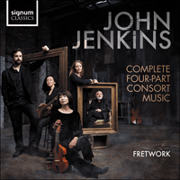 SIGCD528 - Jenkins: Complete four-part consort music
