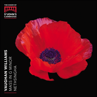 SIGCD541 - Vaughan Williams: Mass in G minor & other choral works