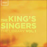SIGCD601 - The King's Singers – The Library, Vol. 1