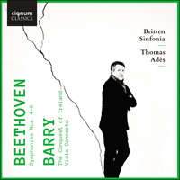 SIGCD639 - Beethoven: Symphonies Nos 4, 5 & 6; Barry: Viola Concerto & The Conquest of Ireland
