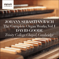 SIGCD800 - Bach: The Complete Organ Works, Vol. 1