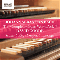 SIGCD803 - Bach: The Complete Organ Works, Vol. 3
