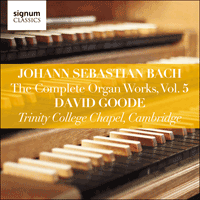 SIGCD805 - Bach: The Complete Organ Works, Vol. 5
