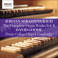 SIGCD806 - Bach: The Complete Organ Works, Vol. 6