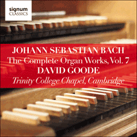 SIGCD807 - Bach: The Complete Organ Works, Vol. 7