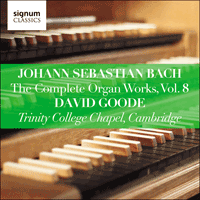 SIGCD808 - Bach: The Complete Organ Works, Vol. 8