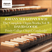 SIGCD809 - Bach: The Complete Organ Works, Vol. 9