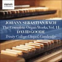 SIGCD811 - Bach: The Complete Organ Works, Vol. 11