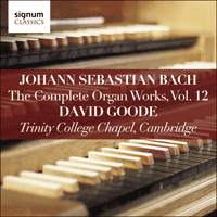 SIGCD812 - Bach: The Complete Organ Works, Vol. 12