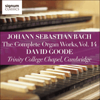 SIGCD814 - Bach: The Complete Organ Works, Vol. 14
