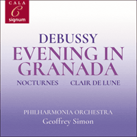 SIGCD2093 - Debussy: Evening in Granada