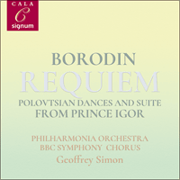 SIGCD2094 - Borodin: Requiem & other works