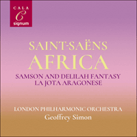 SIGCD2162 - Saint-Saëns: Africa & other orchestral works