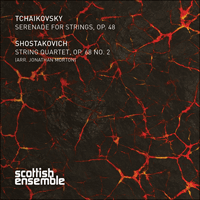 CKD472 - Tchaikovsky: Serenade for strings; Shostakovich: String Quartet No 2
