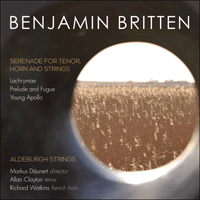 CKD478 - Britten: Serenade for tenor, horn and strings & other works