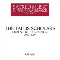GIMBX303 - Sacred Music in the Renaissance, Vol. 3