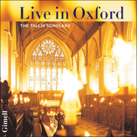 CDGIM998 - The Tallis Scholars Live in Oxford