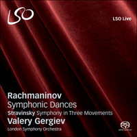 LSO0688 - Rachmaninov: Symphonic Dances; Stravinsky: Symphony in three movements