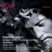 Fauré Requiem Bach Partita Chorales Ciaccona Lso0728