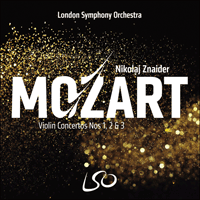 Mozart Violin Concertos Nos 1 2 3 Lso0804 D Wolfgang