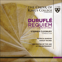 KGS0016 - Duruflé: Requiem & other choral works