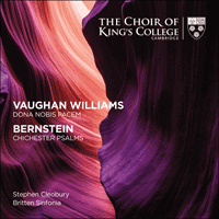 KGS0021 - Vaughan Williams: Dona nobis pacem; Bernstein: Chichester Psalms